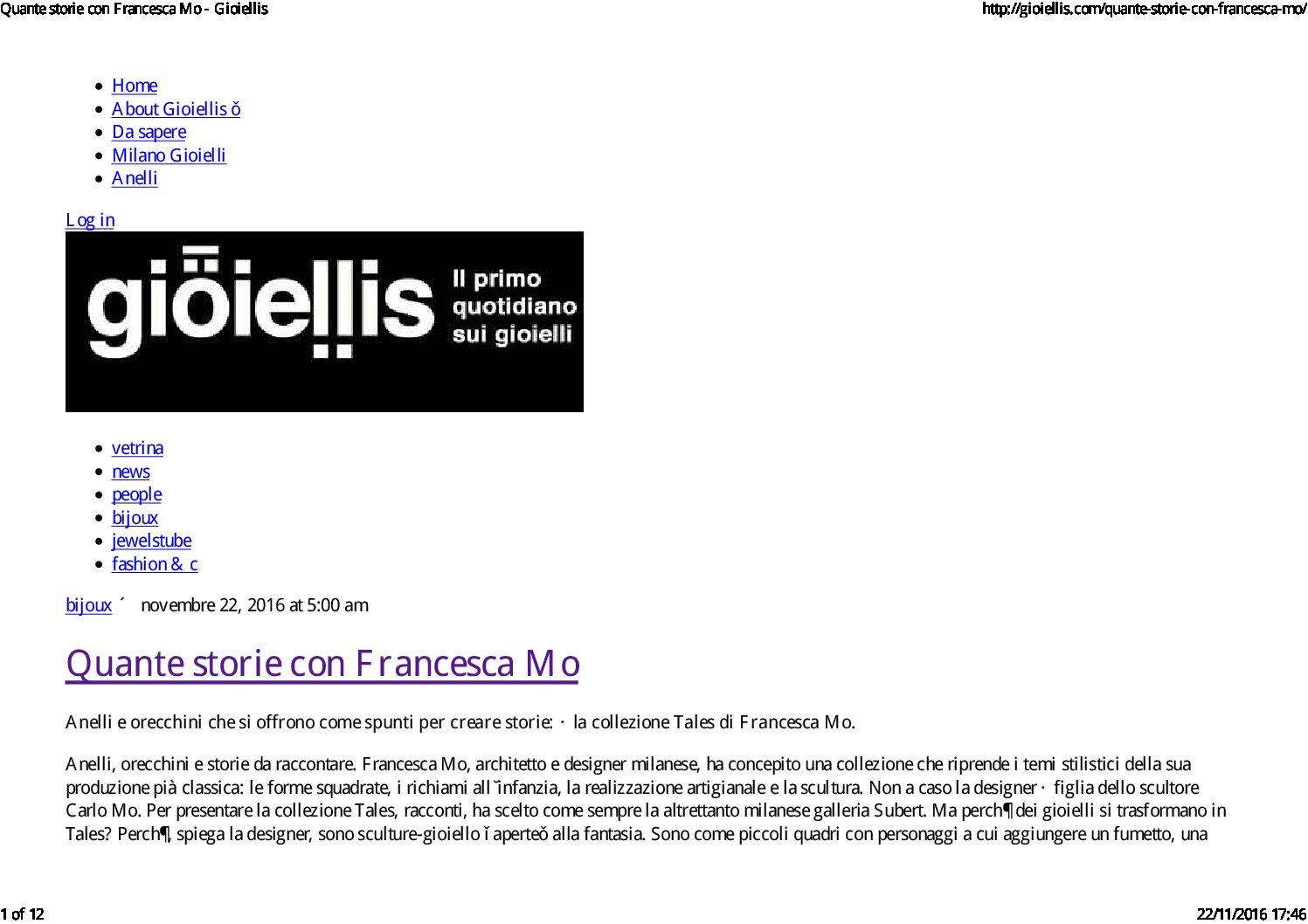 Gioiellis.com – 2016
