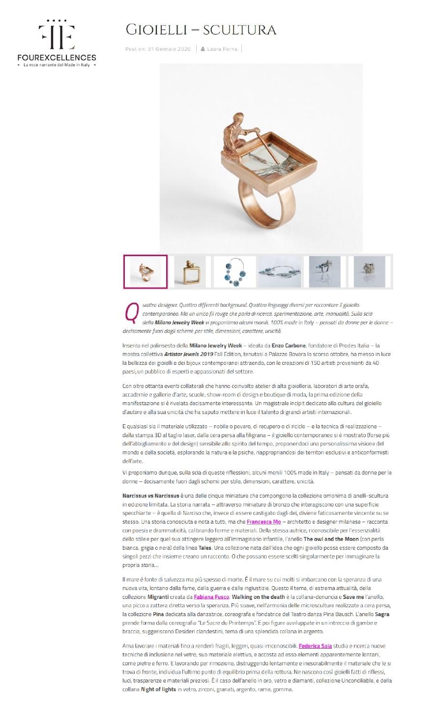 Fourexcellences.com – 31 Gennaio 2020