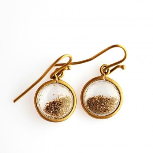 29 - Gold powder - Earrings